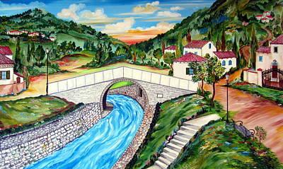 Painting - Beli Most Vranje Serbia by Roberto Gagliardi