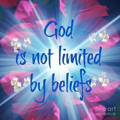 Photograph - Beliefs 1 by Leanne Seymour