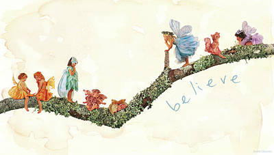 Print featuring the photograph Believe by Anne Geddes