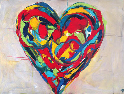 Secret Admirer Painting - Believe by Crystal Fischetti