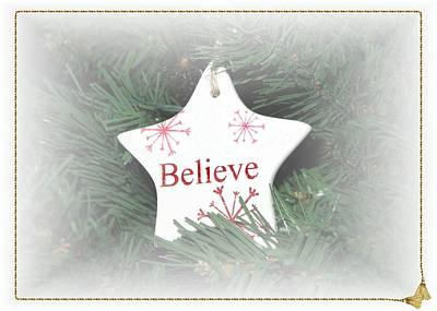 Photograph - Believe Star by Ellen O'Reilly