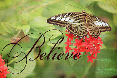 Digital Art - Believe by Gwen Vann-Horn
