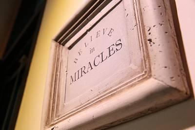 Believe Digital Art - Believe In Miracles by Cco