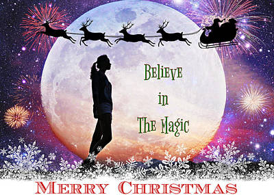 Photograph - Believe In The Magic Of Christmas by Aurelio Zucco
