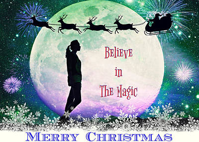 Photograph - Believe In The Magic Of Christmas II by Aurelio Zucco