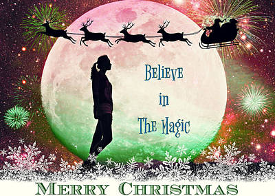 Photograph - Believe In The Magic Of Christmas IIi by Aurelio Zucco