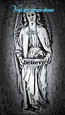 Digital Art - Believe by Joan Reese
