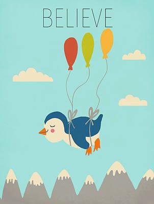 Believe Digital Art - Believe by Nicole Wilson