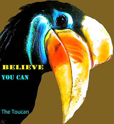 Photograph - Believe Toucan by Debra     Vatalaro