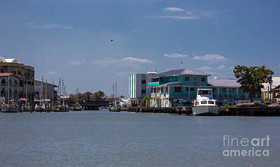 Photograph - Belize City Port by Suzanne Luft