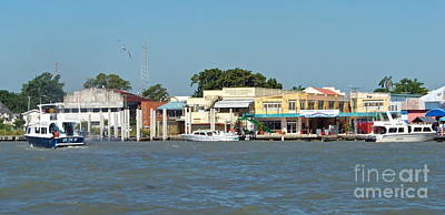 Photograph - Belize City Waterfront by Carol  Bradley