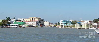 Photograph - Belize City Waterfront II by Carol  Bradley