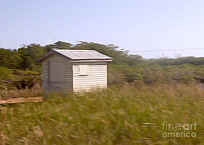 Belize - Field Shack Art Print