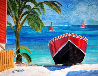 Painting - Belizean Dream by Janet McDonald