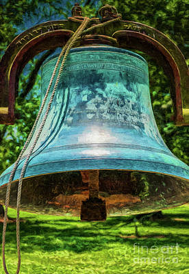 Photograph - Bell At San Francisco Plantation - Digital Art by Kathleen K Parker