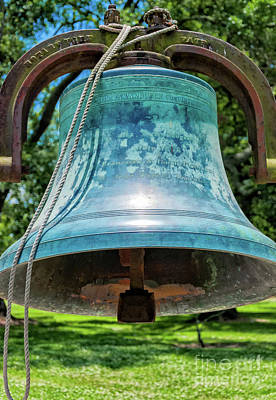 Photograph - Bell At San Francisco Plantation Louisiana by Kathleen K Parker