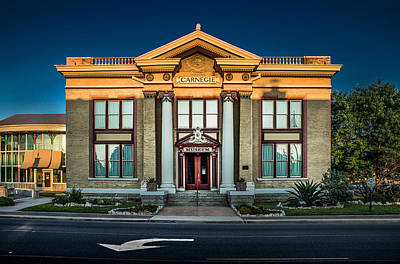 Carnegie Museum Photograph - Bell County Museum by Jim Painter