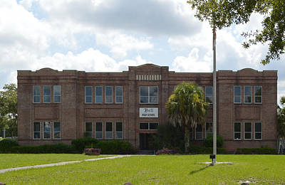Photograph - Bell Florida Highschool by rd Erickson