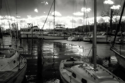 Photograph - Bell Haven Docks by Paul Seymour
