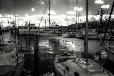 Bell Haven Docks Art Print