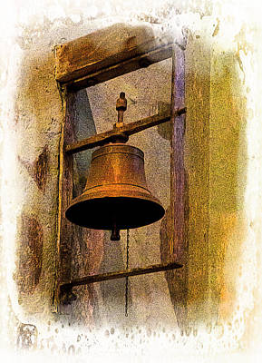 Photograph - Bell In The Old Cathedral Of Cuenca, Ecuador by Al Bourassa