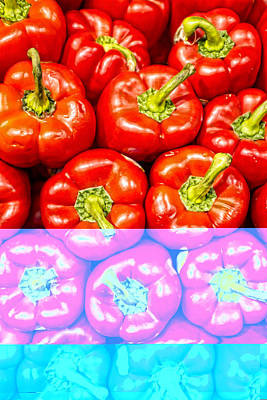 Philadelphia Photograph - Bell Peppers by Hugh Smith