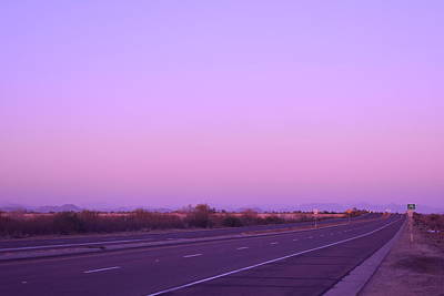 Photograph - Bell Road At Sunset 1 by Nina Kindred