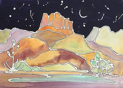 Painting - Bell Rock by Barbara Tibbets