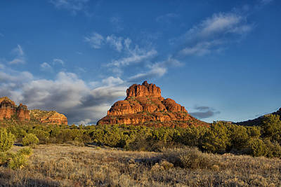 Bell Rock Beams Art Print by Tom Kelly