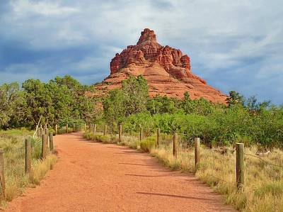 Photograph - Bell Rock  by Lorella Schoales
