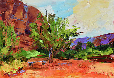 Painting - Sedona Pathway  by Elise Palmigiani