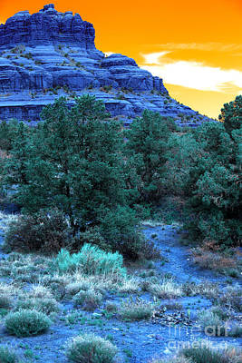Photograph - Bell Rock Pop Art by John Rizzuto