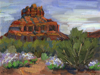 Painting - Bell Rock Sedona by Diane McClary