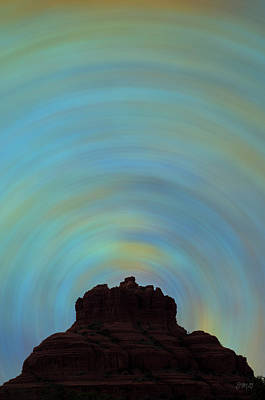 Photograph - Bell Rock Vortex No. 2 by David Gordon