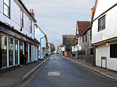 Photograph - Bell Street Sawbridgeworth by Gill Billington