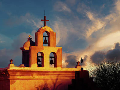 Photograph - Bell Tower At Sunrise by Alan Socolik