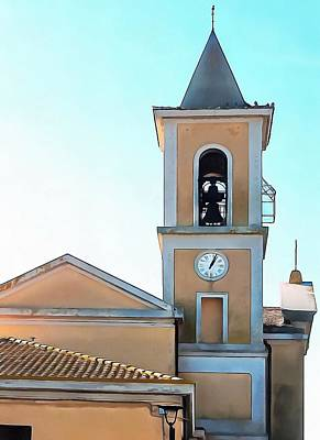 Photograph - Bell Tower Of Chiesa San Egidio Abate In Vaiano by Dorothy Berry-Lound