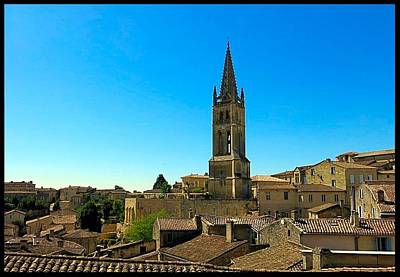 Photograph - Bell Tower Of Saint Emilion by Betty Buller Whitehead