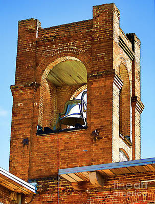 Photograph - Bell Tower - Quitting Time by Scott Faber