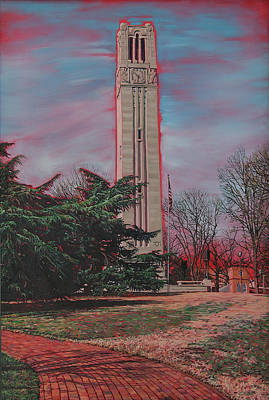 Painting - Bell Tower by Tommy Midyette