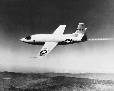 Photograph - Bell X-1 by Science Source