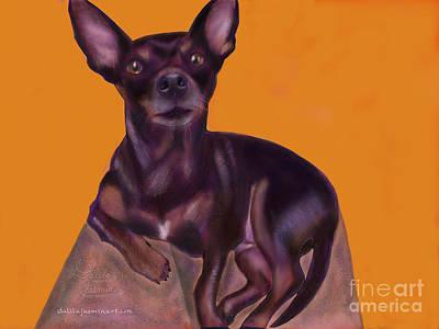 Chihuahua Digital Art - Bella by Dalila Jasmin