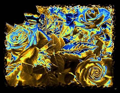 Digital Art - Bella Flora 9 by Will Borden