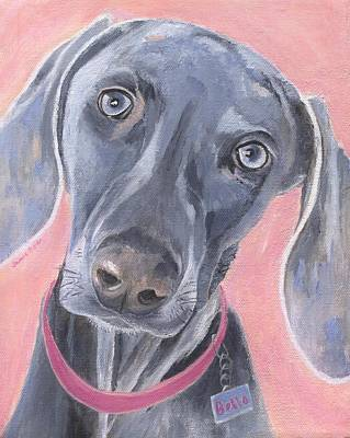 Painting - Bella by Jamie Frier