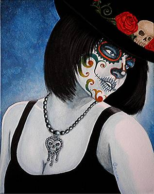Bella Muerte Returns II Art Print