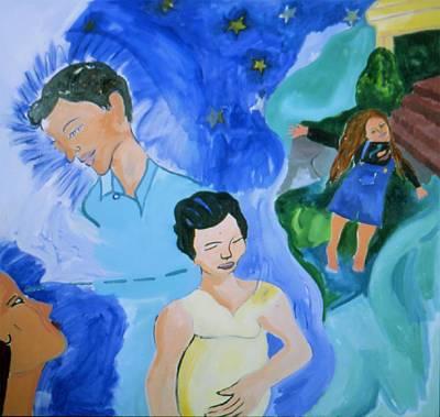 Bella Art Print by Nina Talbot