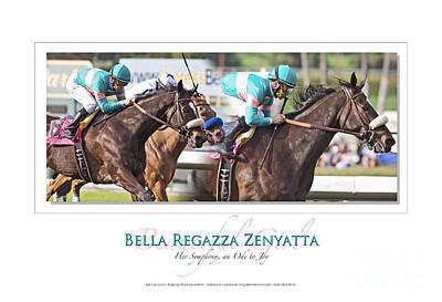 Zenyatta Photograph - Bella Regazza Zenyatta by Anthony Andrews