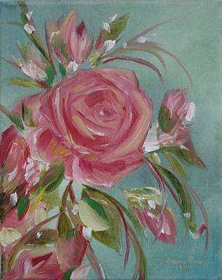 Painting - Bella Rosa by Judith Rhue