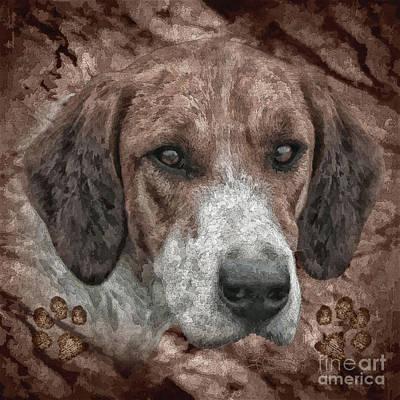 Puppies Mixed Media - Bella by Shafawndi Heartski