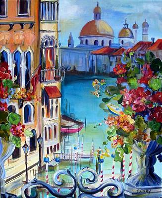Painting - Bella Venice by Elaine Cory
